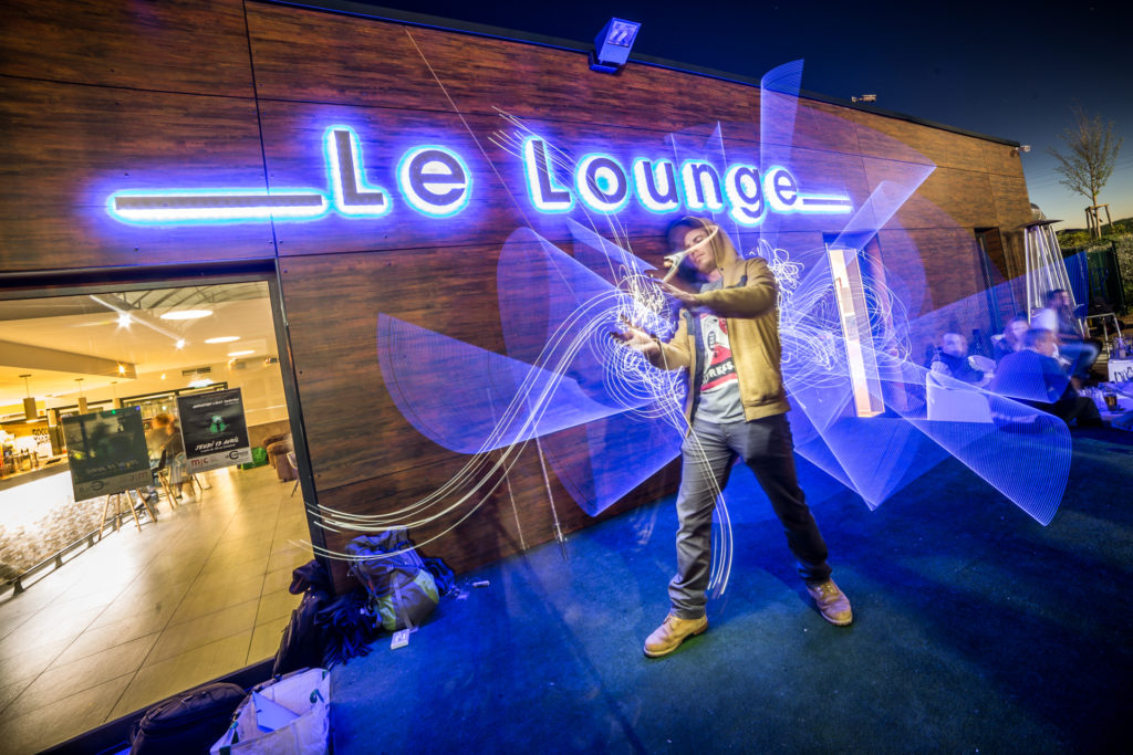 Stage de Lightpainting Semaine des Cultures Urbaines au Complexe