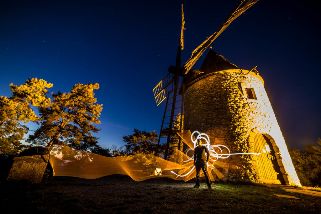 Stage de Lightpainting Semaine des Cultures Urbaines